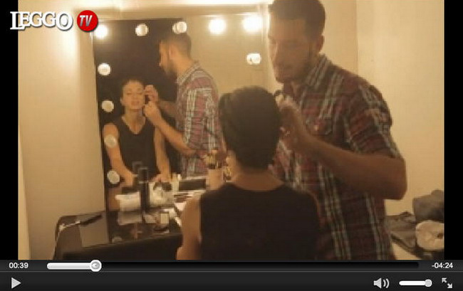 Video Backstage Un Peccato