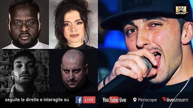 Dolcenera ospite HIP HOP TV Italy