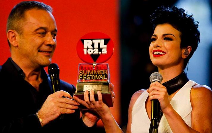 Dolcenera vince la seconda puntata del Coca-Cola Summer Festival
