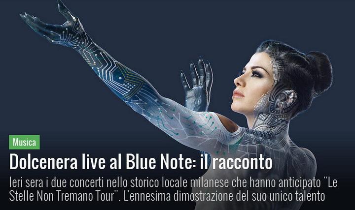 Dolcenera emoziona al Blue Note di Milano