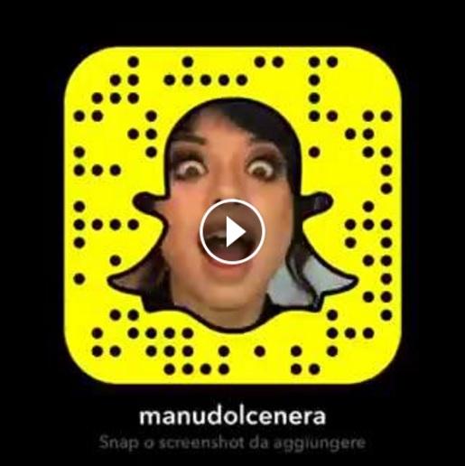 Dolcenera è su Snapchat!