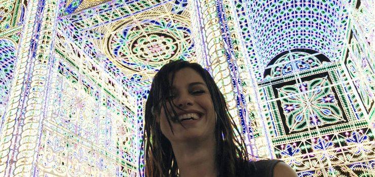 Dolcenera e le luminarie di Scorrano, il suo paese, le più belle al mondo