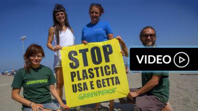 OptiMagazine: Dolcenera e Greenpeace ad Ischia contro l'inquinamento del pianeta
